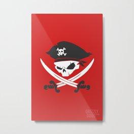 Mutiny Mateys! Metal Print