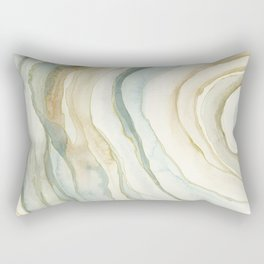 Earth and Agate Rectangular Pillow
