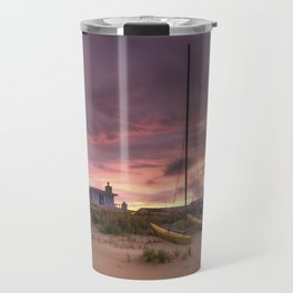 Sunset after Hurricane Florence Travel Mug