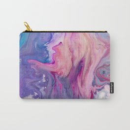 ultra violet marble fun Carry-All Pouch