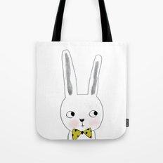 rabbit bow  Tote Bag