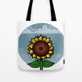 kitschy sunflower Tote Bag