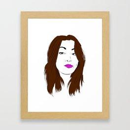Girls gone pink Framed Art Print