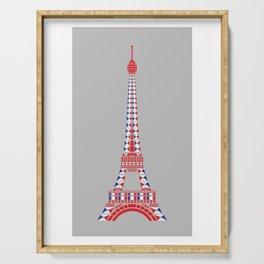 Eiffel Tower Serving Tray