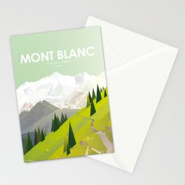 Alone In Nature - Là Haut Stationery Cards