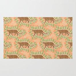 leopard and jungle print Rug