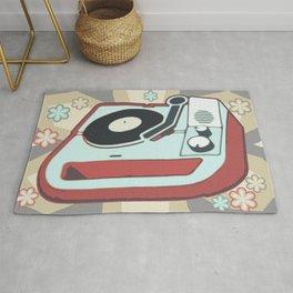 Retro Vinyl Rug