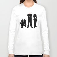 suits Long Sleeve T-shirts featuring Suits by ChrisShirts