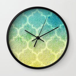 Moroccan Inspiration Wall Clock
