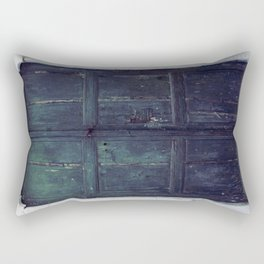Santorini Door II Rectangular Pillow