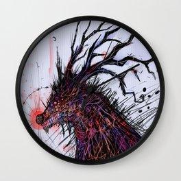 Nariz roja Wall Clock