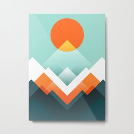 Everest Metal Print