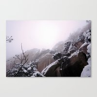 onward Canvas Prints featuring Onward by Hapa Mandu
