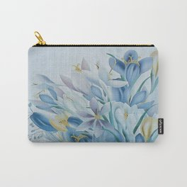 Lovely Spring Crocus Carry-All Pouch