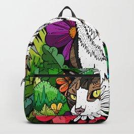 Ellie in the woods Backpack