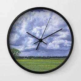 The Neighbors Wall Clock