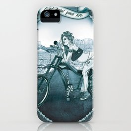 Pedal Your Life iPhone Case