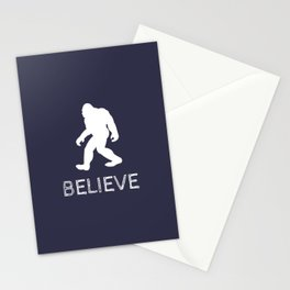"""Bigfoot Sasquatch """"BELIEVE"""" Stationery Cards"""