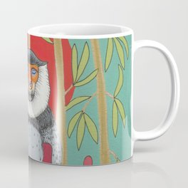 Chinoiserie Monkey Coffee Mug