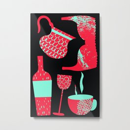 Mom Essentials Metal Print