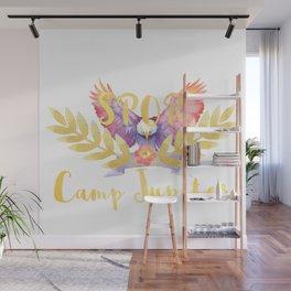 camp jupiter floral Wall Mural