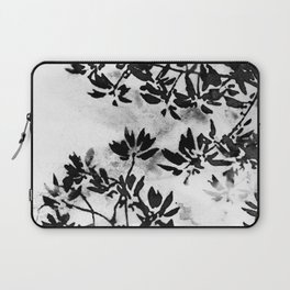 Contrast Botanical Laptop Sleeve