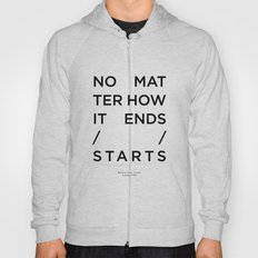 Radiohead House of Cards Lyrics Hoody