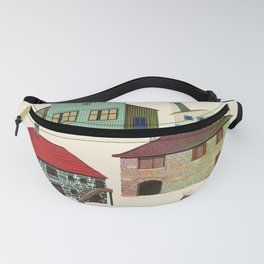 houses in the world Fanny Pack