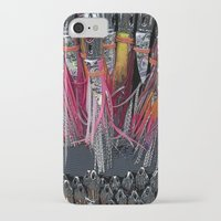fishing iPhone & iPod Cases featuring Fishing by Mary Kilbreath