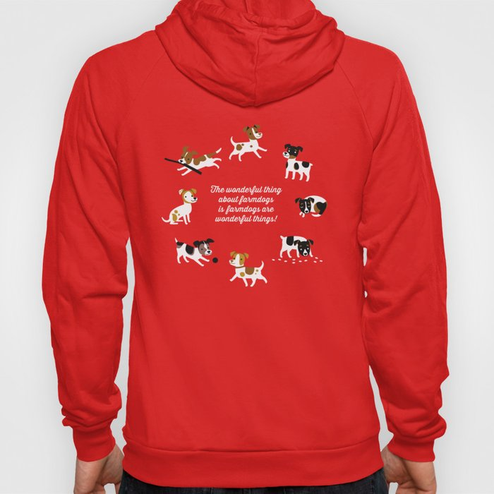 Farmdogs are wonderful things Hoody