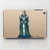 valar morghulis iPad Cases featuring Ulmo by wolfanita