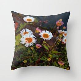 Canal Daisy Throw Pillow