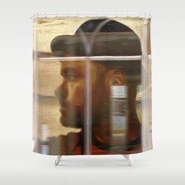 Self-Portrait de Jean-François Dupuis Shower Curtain