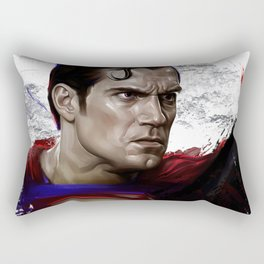 batmanVsuperman Rectangular Pillow