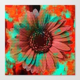 Lysergic Flower Canvas Print