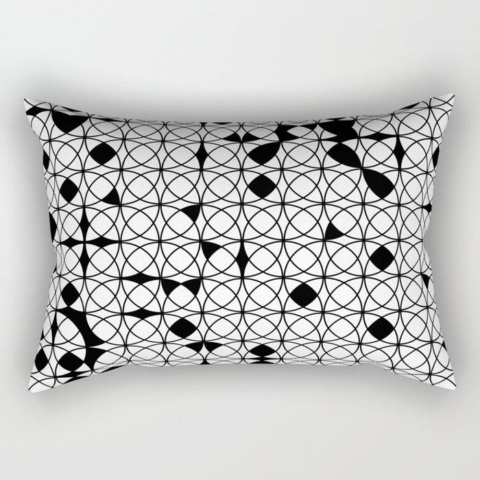 o x o - wb Rectangular Pillow