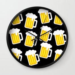 beer love Wall Clock