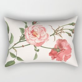 Rosa Semplerflorens Rectangular Pillow