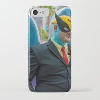 birdman iPhone & iPod Cases featuring Harvey Birdman on the scene in San Diego ... by Hoboxia