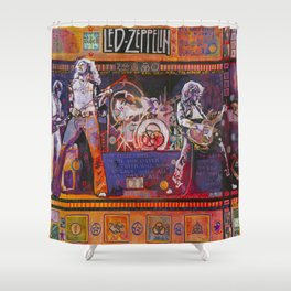 Rock and Roll Shower Curtain