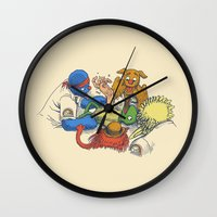 prometheus Wall Clocks featuring Open Sesame by Eric Fan