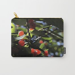Jane's Garden - Sunkissed Red Berries Carry-All Pouch