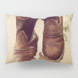 Cowboy Boots Pillow Sham