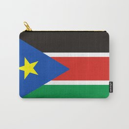 south sudan flag Carry-All Pouch