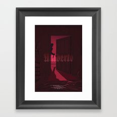 Umberto - The Horror Framed Art Print