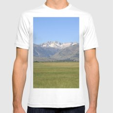 Sawtooth  Mens Fitted Tee White MEDIUM