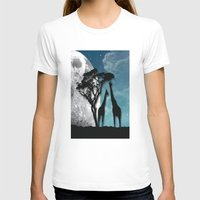 african T-shirts featuring African Nights by Bakmann Art