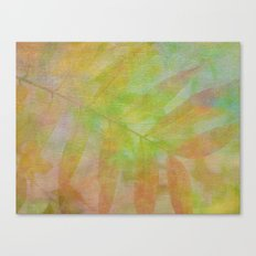 Smiling Green Canvas Print