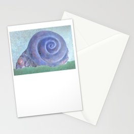 Moon Snail Aglow Stationery Cards