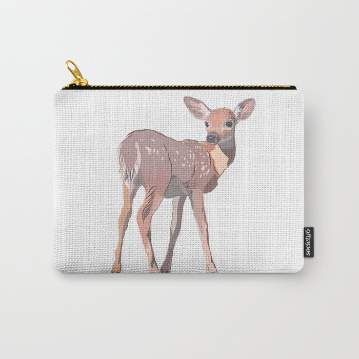Baby Deer Art Carry-All Pouch